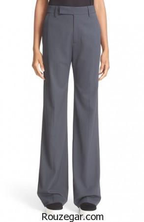 مدل شلوار پارچه ای زنانه 2017 ، مدل شلوار پارچه ای زنانه 96، مدل شلوار پارچه ای زنانه