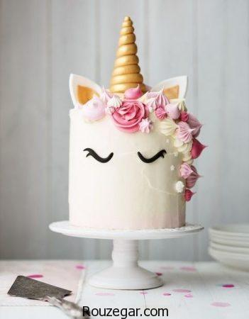 عکس کیک تولد دخترانه عروسکی ، کیک تولد فانتزی