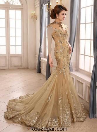 مدل لباس مجلسی کار شده، مدل لباس مجلسی جدید،  مدل لباس مجلسی زنانه،  مدل لباس مجلسی 2017
