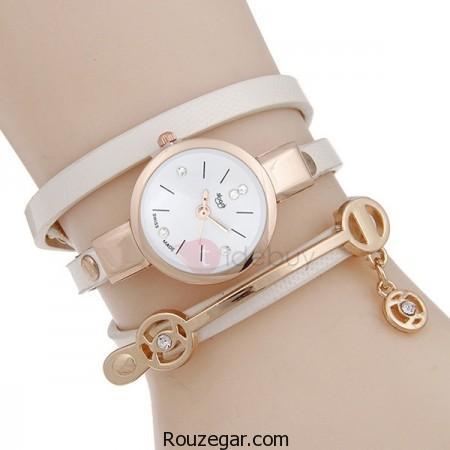 مدل ساعت دخترانه دستبندی، مدل ساعت دخترانه، مدل ساعت دستبندی، مدل ساعت دستبندی زنانه
