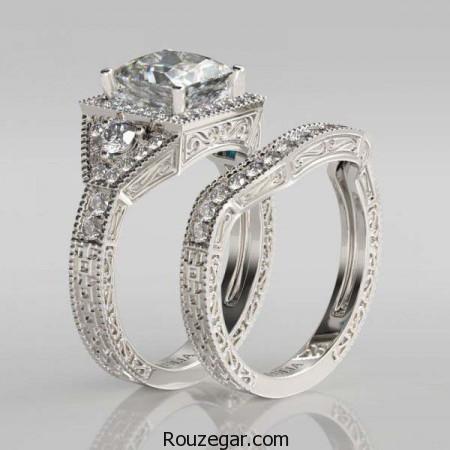 مدل حلقه ازدواج ست ، مدل حلقه ازدواج ست 2017، مدل حلقه ازدواج ست زنانه و مردانه، مدل حلقه ازدواج جدید