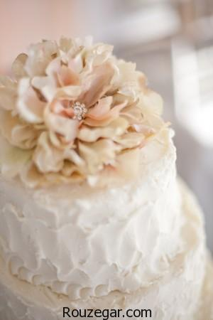 مدل کیک عروسی، مدل کیک عروسی جدید، مدل کیک عروسی با گل، مدل کیک عروسی 2017