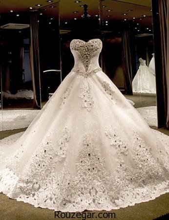 ژورنال شیک ترین مدل لباس عروس جدید اروپایی ۲۰۱۷ – ۹۶