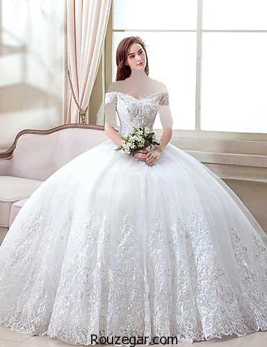 مدل لباس عروس جدید اروپایی، مدل لباس عروس اروپایی، مدل لباس عروس جدید ،  مدل لباس عروس اروپایی 2017