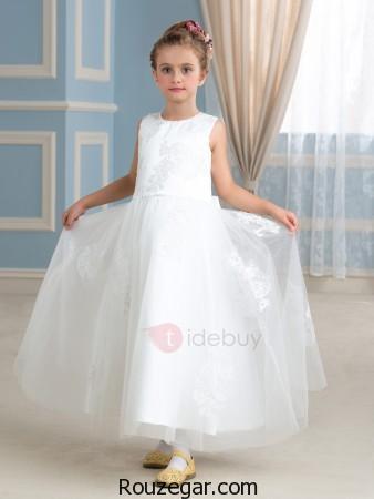 مدل لباس عروس بچه گانه ، مدل لباس عروس بچه گانه دخترانه، مدل لباس عروس بچه گانه 2017، مدل لباس عروس بچه گانه شیک