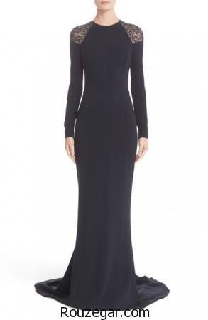 مدل لباس مجلسی آستین بلند،  مدل لباس مجلسی زنانه،  مدل لباس مجلسی آستین بلند جدید،  مدل لباس مجلسی آستین بلند 2017