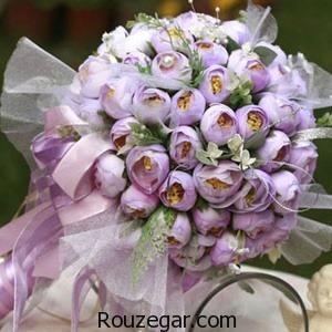 مدل دسته گل عروس ، مدل دسته گل عروس جدید، مدل دسته گل عروس 2017، مدل دسته گل عروس رز