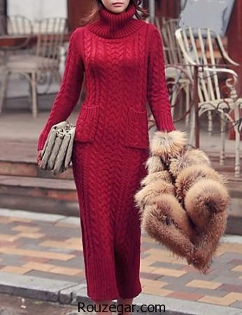 مدل پلیور بافتنی زنانه، مدل پلیور بافتنی دخترانه، مدل بلوز زمستانی زنانه، مدل بلوز زمستانی دخترانه