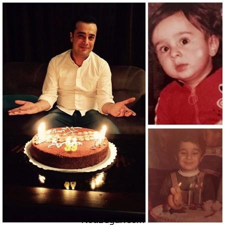 سپند امیرسلیمانی,سپند امیرسلیمانی در جشن تولد ۳۹ سالگی اش