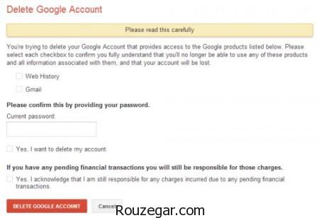 حذف اکانت جیمیل,حذف اکانت جیمیل در اندروید,چگونه جیمیل را حذف کنیم,حذف اکانت گوگل پلاس,حذف حساب