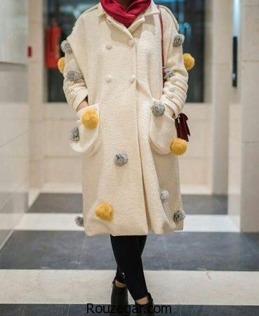 مدل مانتو زمستانی زنانه ، مدل مانتو زمستانی شیک و دخترانه