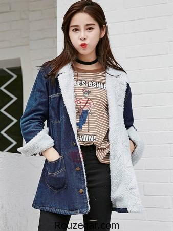 مدل کت جین دخترانه،  مدل کت جین زنانه،  مدل کت جین دخترانه 2017،  مدل کت جین دخترانه کوتاه