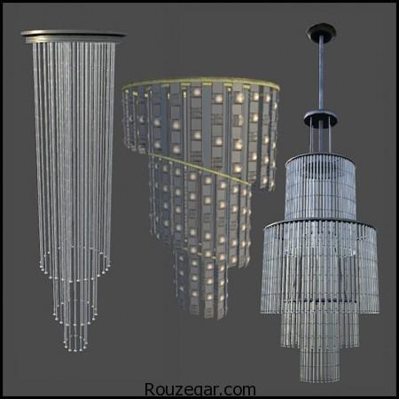 مدل لوستر سالن پذیرایی،مدل لوستر سالن پذیرایی جدید، مدل لوستر سقفی، مدل لوستر سالن پذیرایی آویز