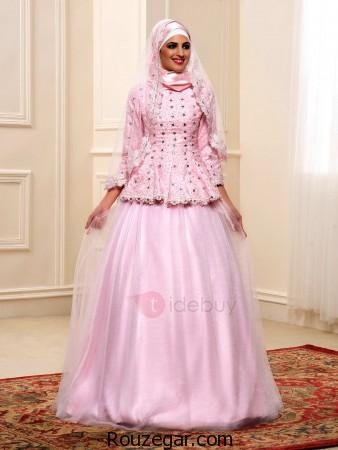 مدل لباس نامزدی پوشیده،مدل لباس نامزدی پوشیده 2017، مدل لباس نامزدی پوشیده پرنسسی
