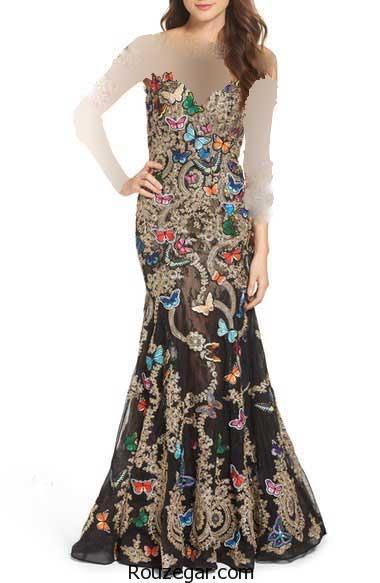 مدل لباس مجلسی کار شده ، مدل لباس مجلسی کار شده زنانه،   مدل لباس مجلسی کار شده دخترانه،  مدل لباس مجلسی کار شده 2017
