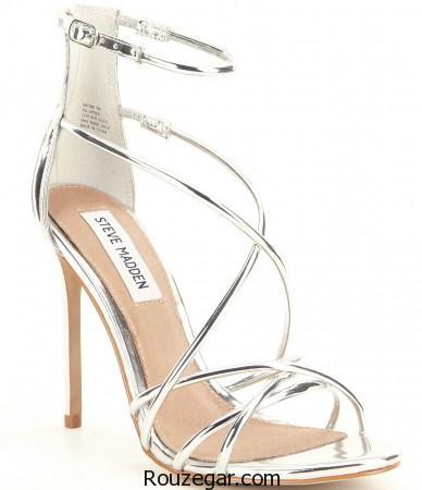 مدل کفش جلو باز عروس ،  مدل کفش عروس ، مدل کفش جلو باز عروس 2017