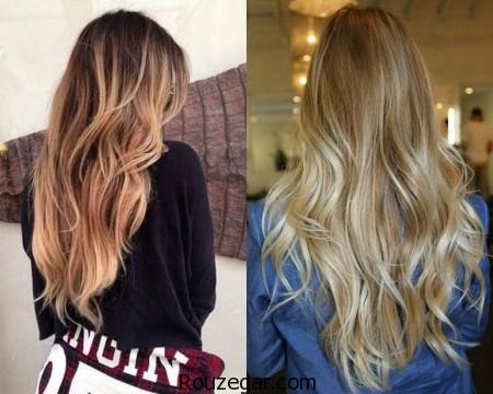 رنگ مو جدید،  رنگ مو 2017، رنگ مو شیک،  رنگ مو زنانه