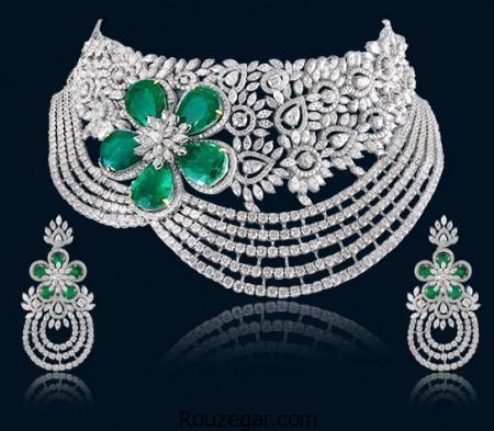 مدل ست جواهرات، مدل ست جواهرات برند Hazoorilal Jewellers ، مدل جواهرات شیک