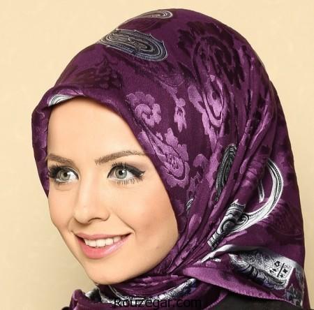 مدل روسری ساتن، مدل روسری ابریشم، مدل روسری