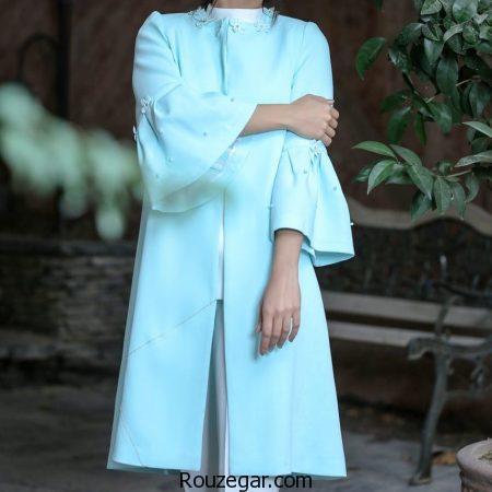 جدیدترین مدل مانتو مجلسی 2018 ، مانتو مجلسی شیک