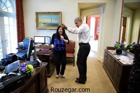 باراک اوباما,تمرین رقص ایرانی,تمرین رقص,رقص,اوباما ,کاخ سفید