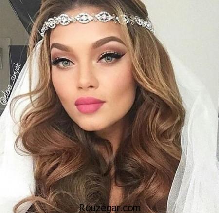 مدل آرایش صورت عروس ، مدل آرایش عروس ،  مدل آرایش صورت عروس 2017،   مدل آرایش صورت عروس ساده