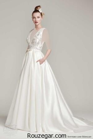 لباس عروس،  لباس عروس 2017،مدل لباس عروس