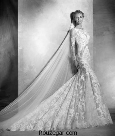 مدل لباس عروس 2017 برند NIKA