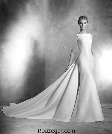 مدل لباس عروس ساتن ، مدل لباس عروس دانتل، مدل لباس عروس 2017