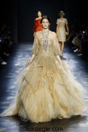 لباس مجلسی برند Marchesa ، لباس مجلسی ، لباس نامزدی زنانه برند Marchesa ، لباس مجلسی 2017