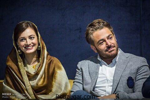 محمدرضا گلزار در کنار بازیگر زن هندی, دیا میرزا,محمدرضا گلزار,سلام بمبئی