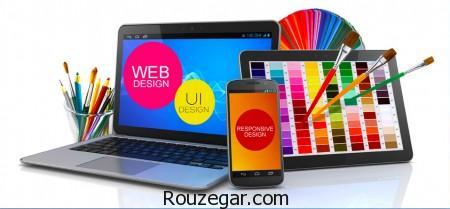 تاثیر جذاب روانشناسی رنگ ها در طراحی وب سایت