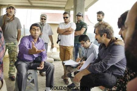 پشت صحنه سریال پایتخت,محسن تنابنده ، علیرضا خمسه و احمد مهران فر در سریال پایتخت,سریال پایتخت 6 , عکس بازیگران سریال پایتخت 6 , عکس پشت صحنه سریال پایتخت 6