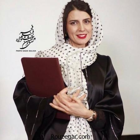 لیلا حاتمی,مدل مانتو خاص و شیک لیلا حاتمی, بهترین بازیگر نقش اول زن فجر ۹۵