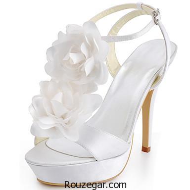 مدل کفش عروس نگین دار، مدل کفش عروس، مدل کفش عروس نگین دار 2017، مدل کفش عروس نگین دار 96