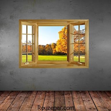 مدل استیکر پنجره، مدل استیکر،مدل استیکر پنجره جدید
