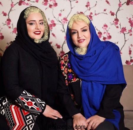 نرگس محمدی و مادرش, نرگس محمدی