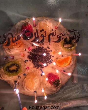 تولد 33 سالگی نرگس محمدی,نرگس محمدی,کیک تولد نرگس محمدی