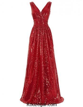 مدل لباس مجلسی بلند و شیک 2017