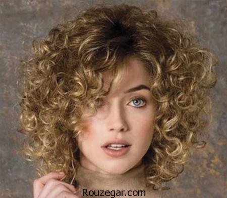 مدل موی فر کوتاه دخترانه ، جدیدترین مدل موی کوتاه