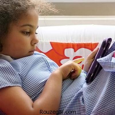 مضرات استفاده کودکان از تبلت و موبایل،نگرانی های والدین،مضرات موبایل برای کودکان،مضرات موبایل برای دانش آموزان،ضررهای موبایل،آسیب های تلفن همراه
