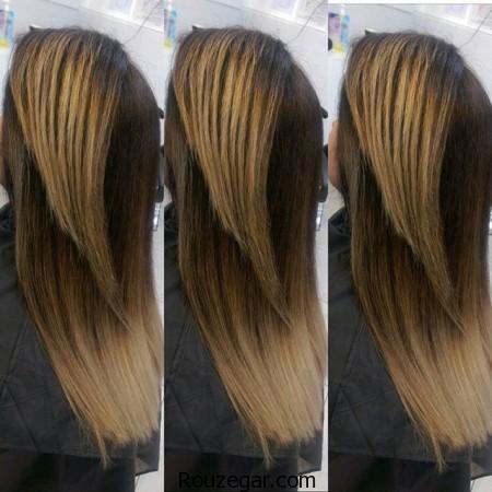 رنگ مو  ۹۶   مدل رنگ مو جدید ۲۰۱۷   مدل رنگ مو آمبره