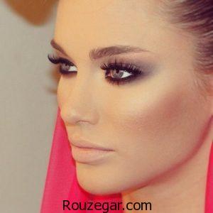 آموزش آرایش چشم و صورت متناسب با چهره شما