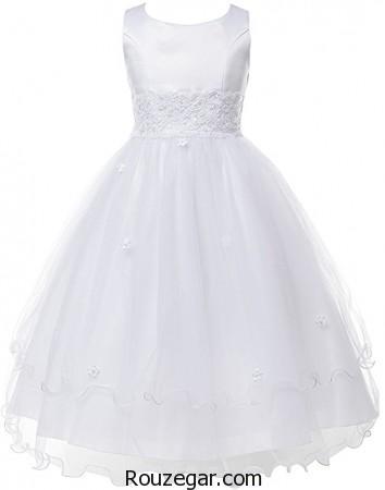 انواع مختلف مدل لباس عروس بچه گانه سال  ۲۰۱۷ – ۹۶