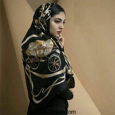جدیدترین مدل های شال و روسری 96