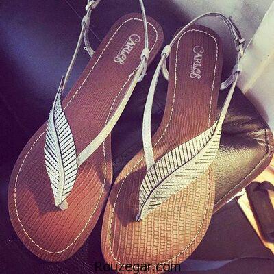 صندل مجلسی پاشنه کوتاه مدل کفش راحتی دخترانه صندل بچه گانه دخترانه انواع صندل