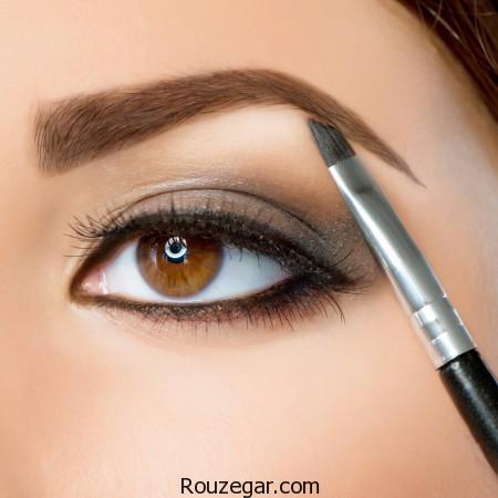 10 اشتباه آرایشی که همه خانم ها باید بدانند!!،کرم پودر ژله ای،ریمل رنگی،ریمل قهوه ای،رنگ چشم سرمه ای،چه رنگ مویی سن را کم نشان میدهد