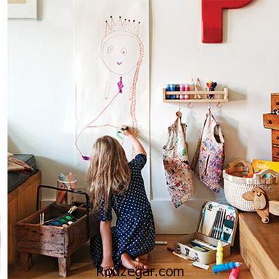 تغییر دکور اتاق کودک ،تغییر دکوراسیون اتاق خواب با وسایل ساده،تغییر دکوراسیون