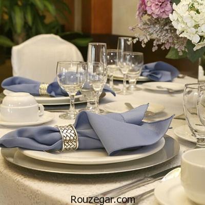 ایده های جالب و شیک برای میز ناهارخوری