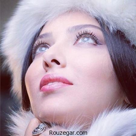 لیلا اوتادی در پشت صحنه فيلم آشوب,پشت صحنه فيلم آشوب, فيلم آشوب,لیلا اوتادی